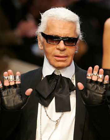 The Lagerfeld acknowldeges your presence with disdain