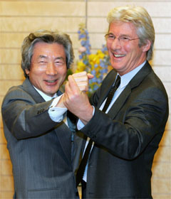 The Chairman Kaga and the Richard Gere tripping the light fantastic