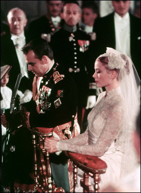 Grace Kelly,Bride