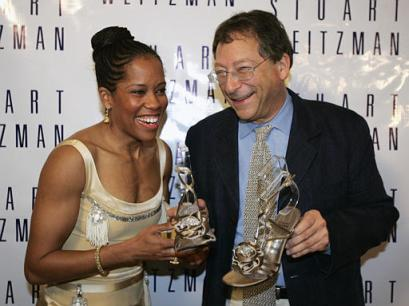 The Super Fantastic Regina King with the Super Fantastic Stuart Weitzman