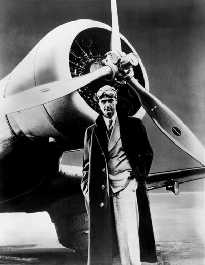 Young Howard Hughes, so dashing!