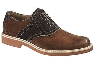 Hush Puppies Authentic Saddle Shoe