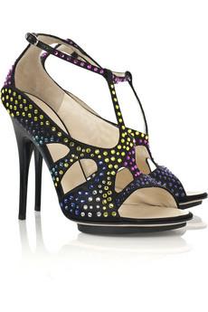 Giuseppe Zanotti Crystal Embellish Sandals