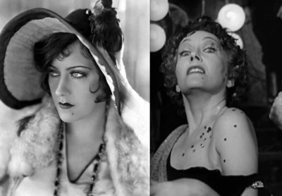 Gloria Swanson, Young and Old