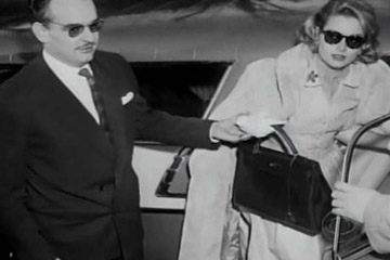 Grace Kelly and her eponymous Hermes bag