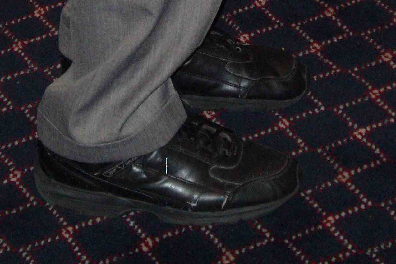 Ron Paul's Horrible Shoes