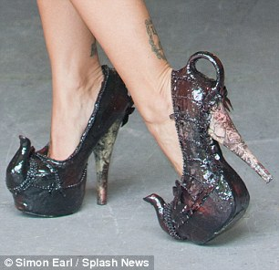 Crazy Teapot Shoes