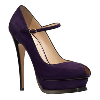 Yves Saint Laurent Tribute in Purple