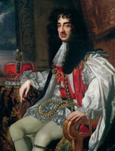 Charles II, By the Grace of God, King of England, Ireland, Scotland, and Jheri Curl