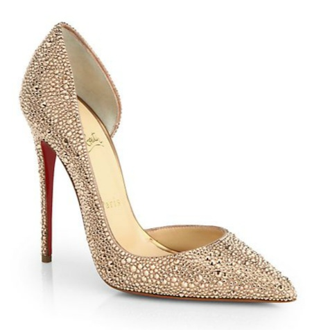 Louboutin Iriza Strass Crystal Pumps
