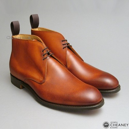Jackie Chukka Boots in tan from Cheaney English Shoes