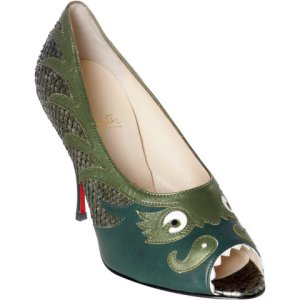 Pesce by Christian Louboutin    Manolo Emphatically Does Not Like    Do Not Click!